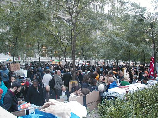 Zuccotti Park - Autumn 2011 - OWS