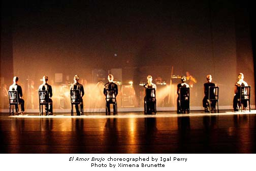 Peridance Contemporary Dance Company - El Amor Brujo - photo by Ximena Brunette