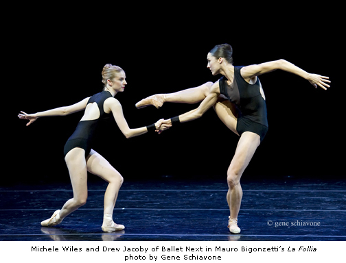 Michele Wiles and Drew Jacoby - Ballet Next - photo by Gene Schiavone