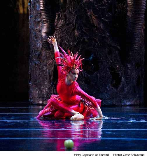 Misty Copeland as Firebird - Photo by Genes Schiavone