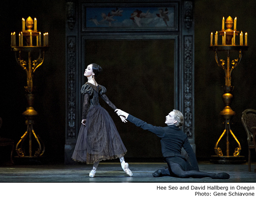 Hee Seo and David Hallberg in Oneign - Photo By Gene Schiavone