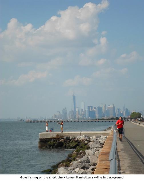 Fishing on the Short Pier - Bay Ridge, Brooklyn