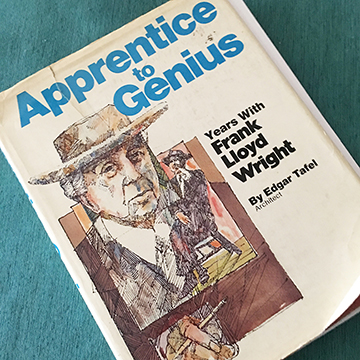 Cover of Apprentice to Genius by Edgar Tafel