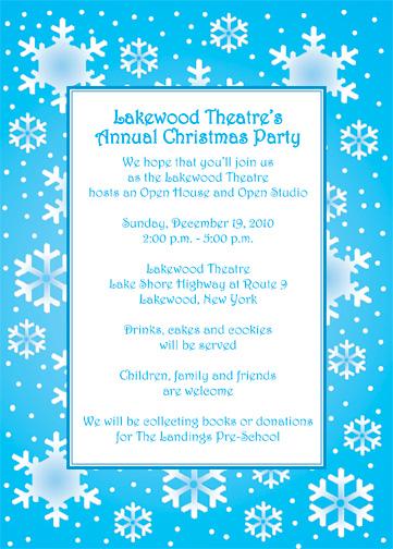 Christmas Party Invitation Style CPI 12