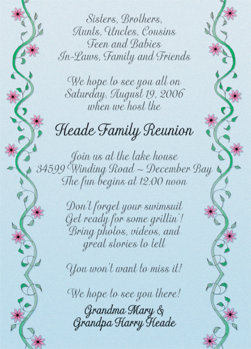 Samples Wedding Invitations for good invitations ideas