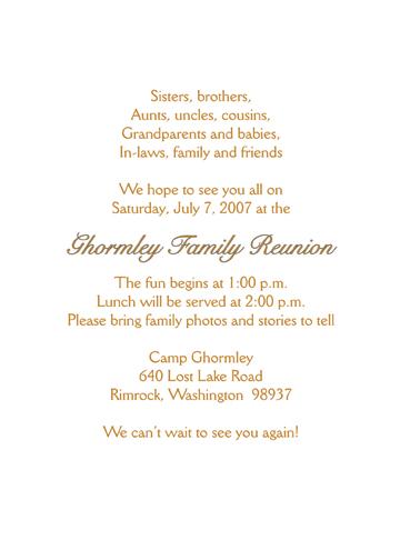 family reunion invitation style fr s2a