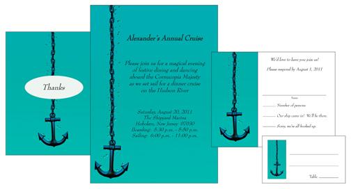 cruise party invitations ipv studio